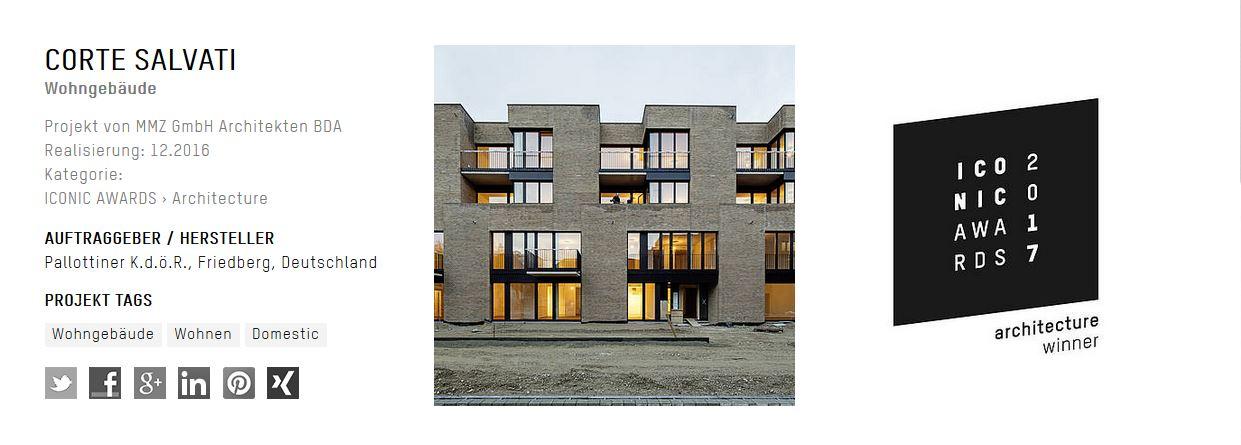 Iconic award 2017 mmz architekten - Mmz architekten ...